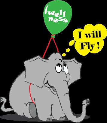 wellness-euphoria-elephant-cartoon